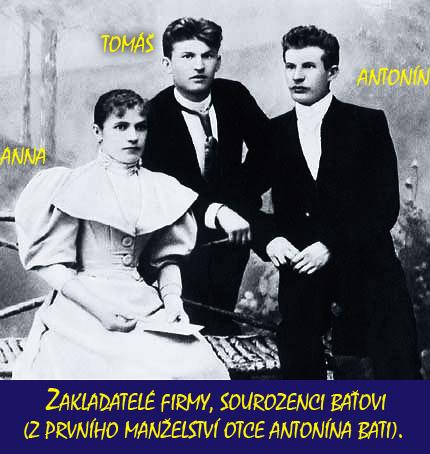 Zakladatelé firmy Baťa