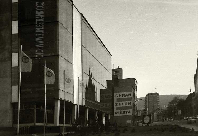 1977 - Murzinova ulice - Dům zeleniny