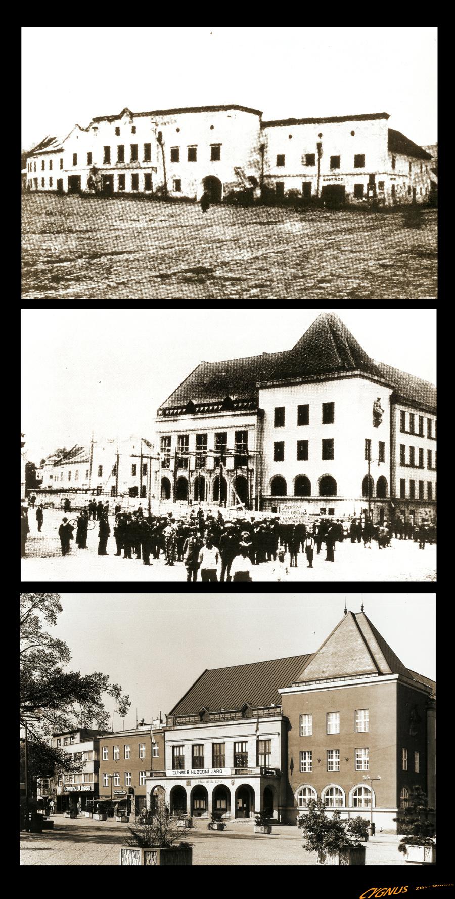 náměstí míru - západní fronta
