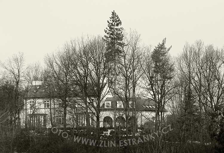 1938 - vila ředitele Hlavničky