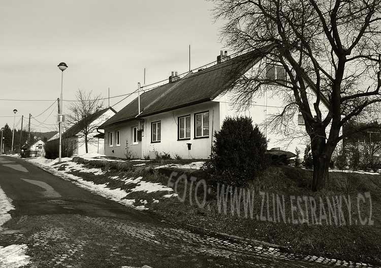 1941 - Mokrá III. - ulice